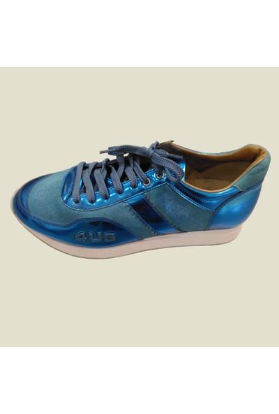 Cesare Paciotti Kadın Spor Ayakkabı Mavi 2399