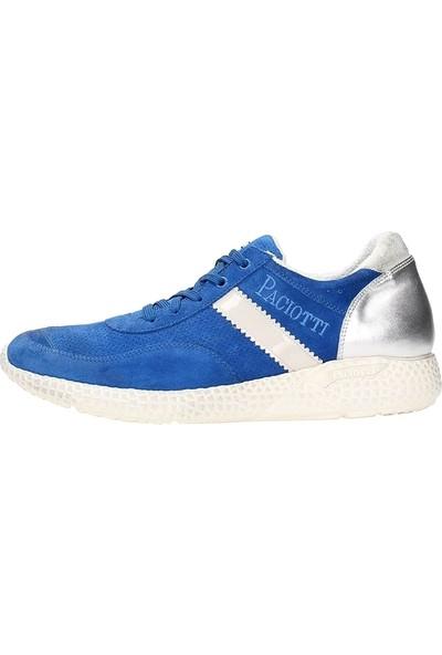 Cesare Paciotti Erkek Spor Ayakkabı Mavi NNFU1FCAB
