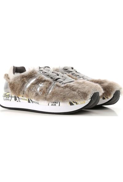 Premiata Kadın Spor Ayakkabı Gri Conny 2605
