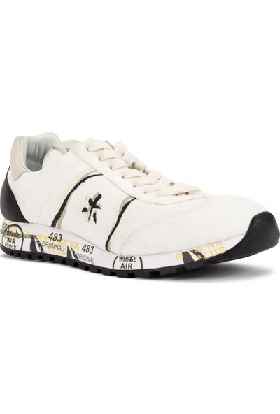 Premiata Erkek Spor Ayakkabı Beyaz Lucy 2801