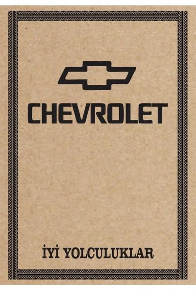 Cihan Oto Paspas Kağıdı Chevrolet Amblem Baskılı 100 Adet 35 x 50 cm