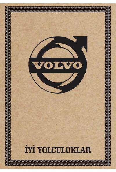 Cihan Oto Paspas Kağıdı Volvo Amblem Baskılı 100 Adet 35 x 50 cm