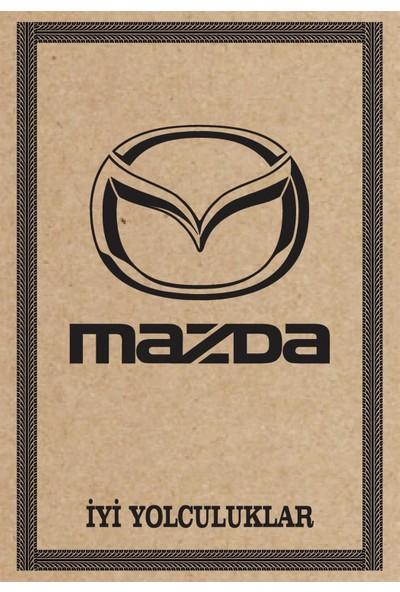 Cihan Oto Paspas Kağıdı Mazda Amblem Baskılı 100 Adet 35 x 50 cm