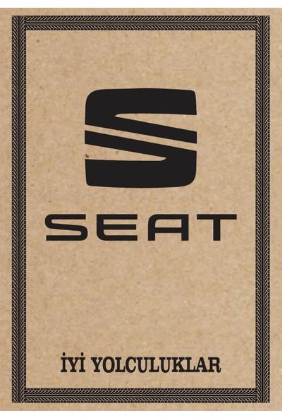 Cihan Oto Paspas Kağıdı Seat Amblem Baskılı 100 Adet 35 x 50 cm