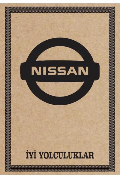 Cihan Oto Paspas Kağıdı Nissan Amblem Baskılı 100 Adet 35 x 50 cm