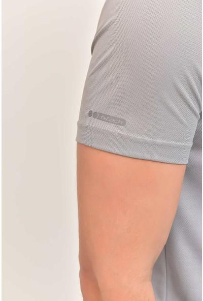 Bilcee Açık Gri Erkek Antrenman T-Shirt Es-1332