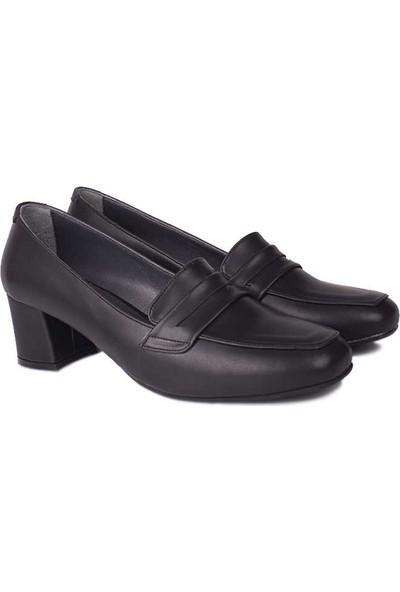 Loggalin 112201 014 Kadın Siyah Ayakkabı