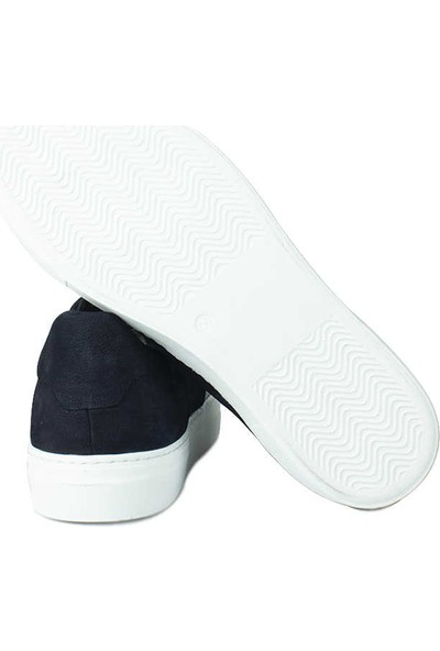 Erkan Kaban 385004 425 Lacivert Matt - Lacivert Nubuk Erkek Ayakkabı