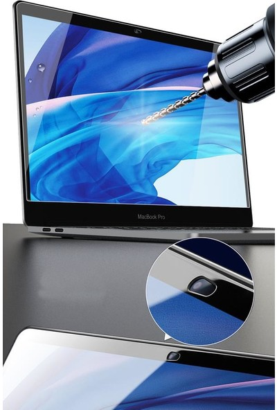 "Wiwu MacBook Vista Serisi 16"" Touch Bar Tamperli Ekran Koruyucu"