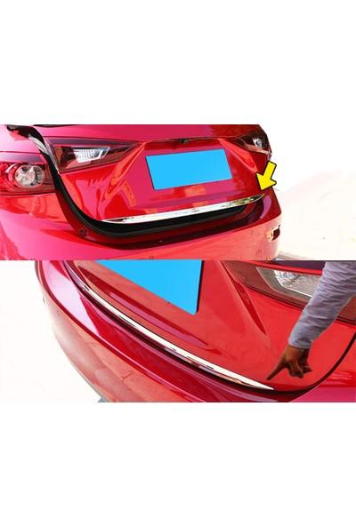 Başkent Oto Volkswagen Golf 6 Formlu Krom Bagaj Alt Çıtası 2009-2013