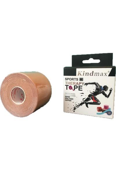 Kindmax Kinesio Sporcu Bandı 5 cm x 5 M Ten Rengi