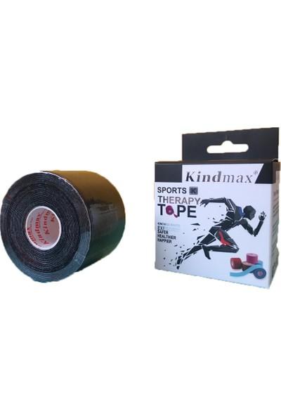 Kindmax Kinesio Sporcu Bandı 5 cm x 5 M Siyah