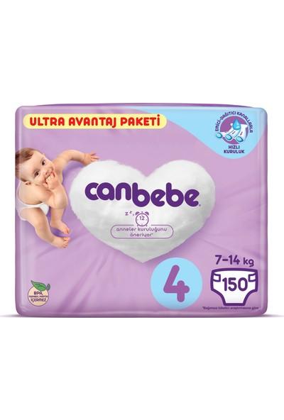 Canbebe Ultra Avantaj No 4 Maxi 150 Adet