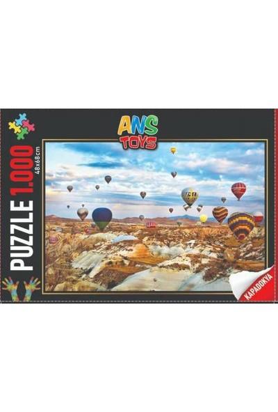 Ans Toys Kapadokya Temalı 1000 Parça Puzzle