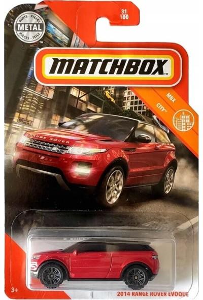 Matchbox Tekli Araba 2018 Range Rover Evoque C0859 - GKM38