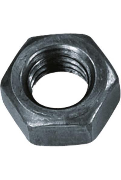 Çetin M8 Din 934 Altı Köşe Somun Çelik Siyah 150'li