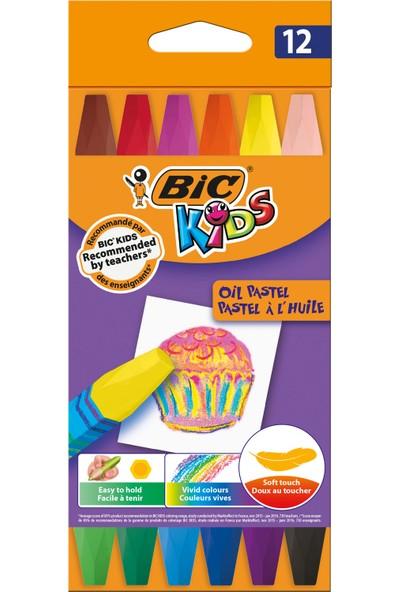 Bic Kids Yağlı Pastel Boya 12 Renk