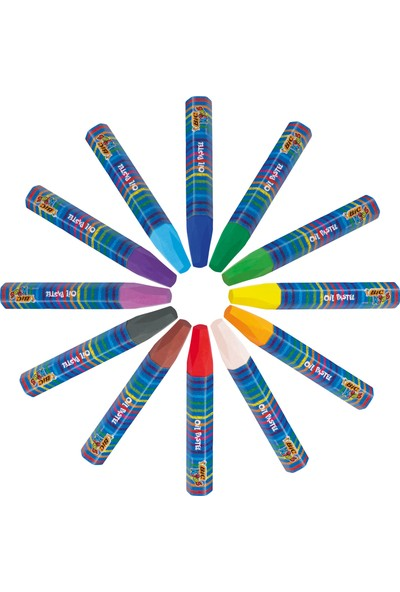 Bic Kids Yağlı Pastel Boya 24 Renk