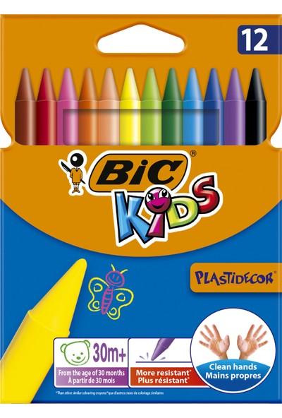 Bic Kids Plastidecor Silinebilir Elleri Kirletmeyen Pastel Boya 12 Renk