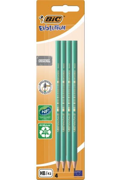 Bic Evolution 650 HB Kurşun Kalem 4'lü Blister
