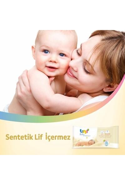Uni Baby Yenidoğan Islak Pamuk Mendil 6'lı 240 Yaprak Fırsat Paketi