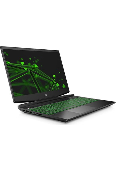 "HP Pavilion 15-DK0006NT Intel Core i5 9300H 16GB 512GB SSD GTX1650 Windows 10 Home 15.6"" FHD Taşınabilir Bilgisayar 6ZH62EA"