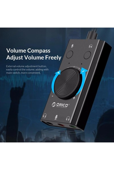 Orico Harici USB Ses Kartı