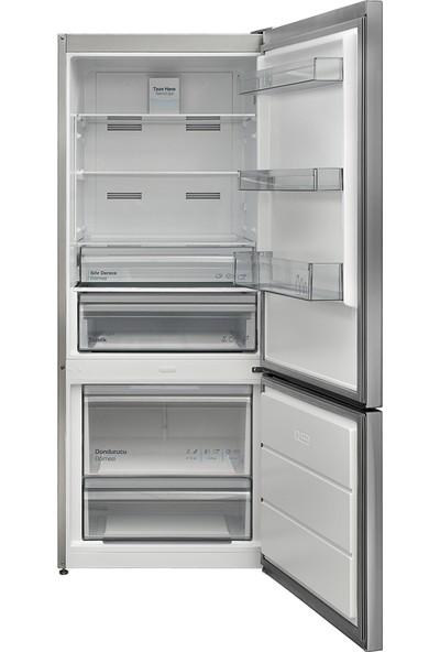 Vestel NFK480 X A++ 304 lt No-Frost Buzdolabı