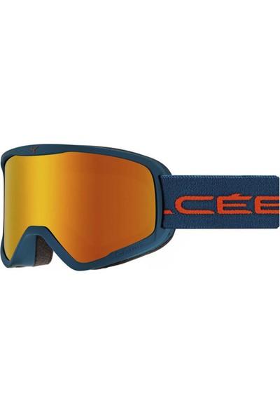 Cebe Strıker L Mat Petrol Orange Orange Flash Fire Cat.2 Kayak Gözlüğü