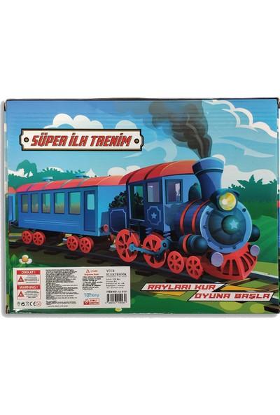 UJ Toys Pilli Raylı Vagonlu Oyuncak Tren Seti