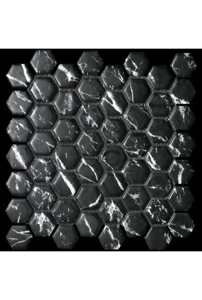 Mossaica Dijital Baskılı Altıgen Mozaik FBDJ031