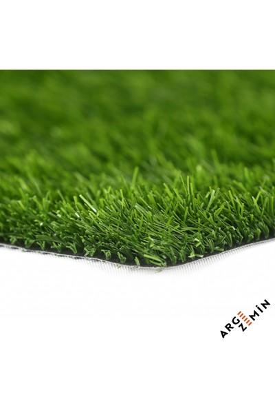 Arge Zemin Kıvırcık Yeşil Çim Halı 20 mm 1 m x 18 m