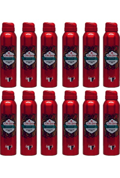 Old Spice Sprey Deodorant 150 ml Bearglove 12 Adet