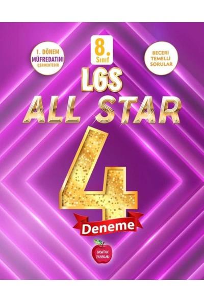 Newton Yayınları LGS 8. Sınıf All Star 4'lu 1. Dönem Genel Deneme