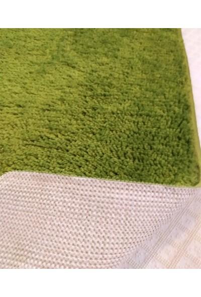 Evden Avm Kaymaz Taban Banyo Halısı Yeşil 50 x 80 cm