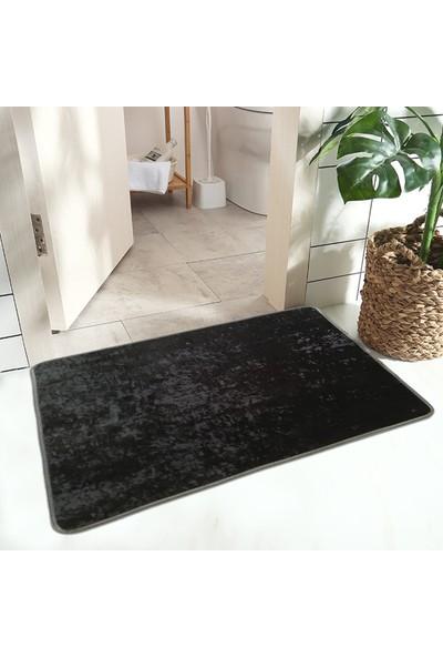 Kos Nem Alıcı Banyo Paspası Halıfleks Paspas Antibakteriyel Paspas 60x80 cm