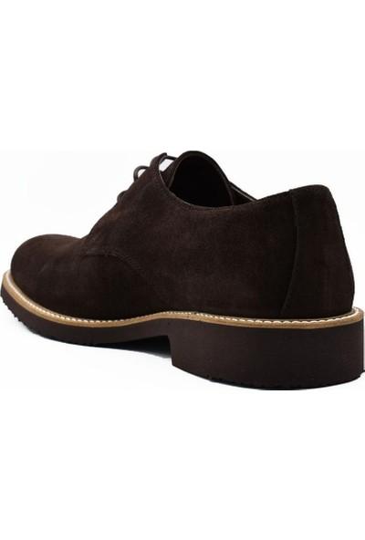 Fertini Deri Kahve Süet Erkek Günlük Ayakkabı