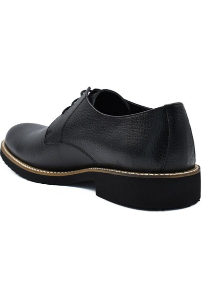 Fertini Deri Siyah Erkek Günlük Ayakkabı