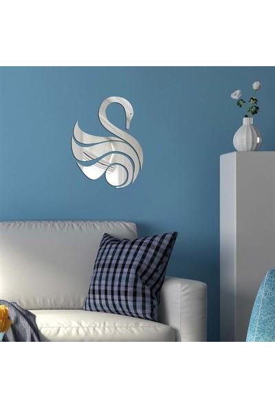 Dez Kuğu Dekoratif Akrilik Ayna 25 x 30 cm