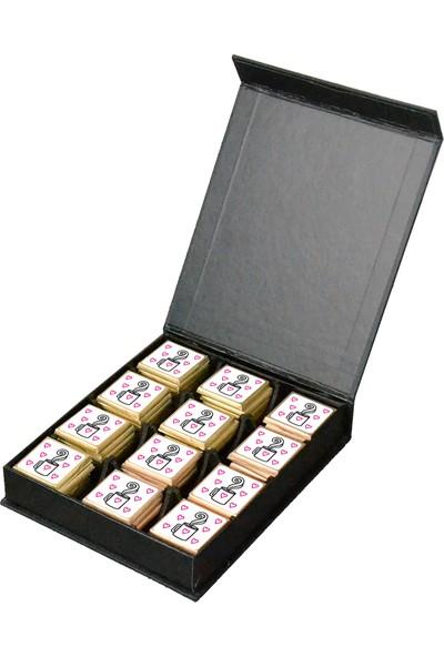 Camp Clover Yeni Iş Çıkolatası Sert Kapaklı Karton Kutulu Çikolata 60'lı