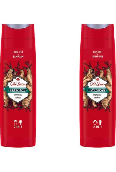 Old Spice Duş Jeli & Şampuan 400 ml Bearglove 2 Adet