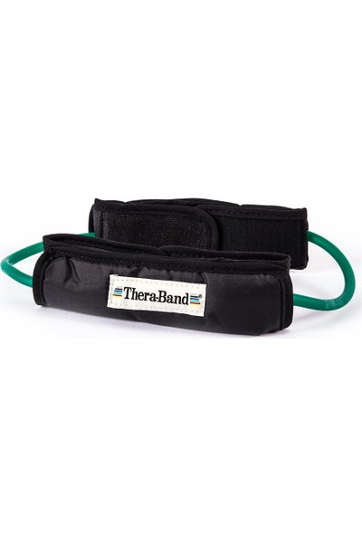 Theraband Tubing Loop Band(Çember) Yumuşak Destekli Yeşil