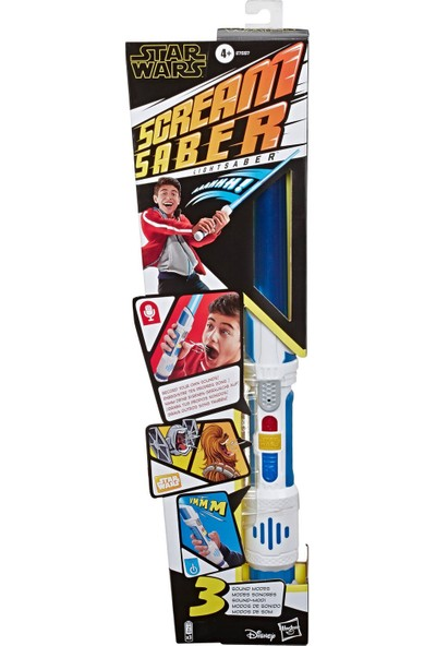 Hasbro Star Wars Scream Saber Elektronik Işın Kılıcı