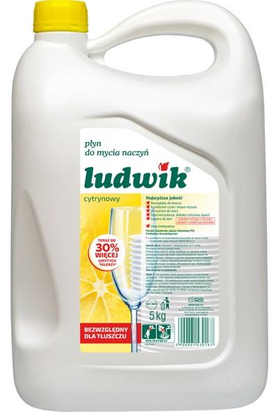 Ludwik Limon Özlü Sıvı Bulaşık Deterjanı 5 kg