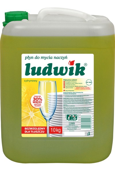 Ludwik Limon Özlü Sıvı Bulaşık Deterjanı 10 kg