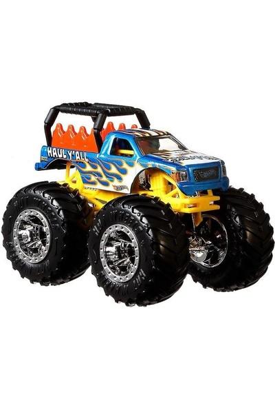 Hotwheels FYJ44 Monster Trucks 1:64 Araba Haul Y'all GJD84