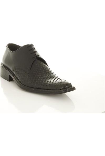 Zeki 1461 Siyah Erkek Günlük Ayakkabı
