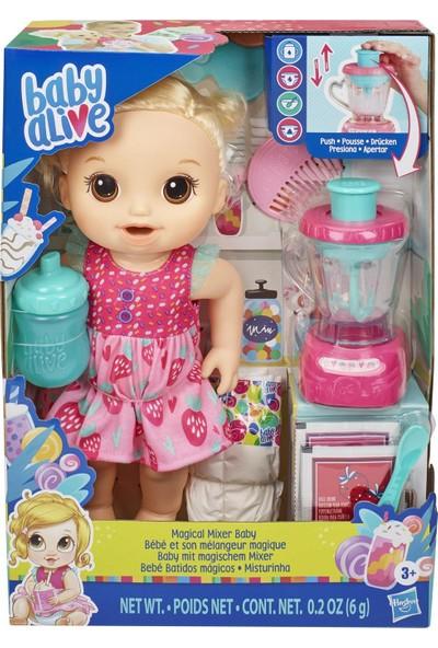 Baby Alive Bebeğim ve Sihirli Mikseri - Sarışın