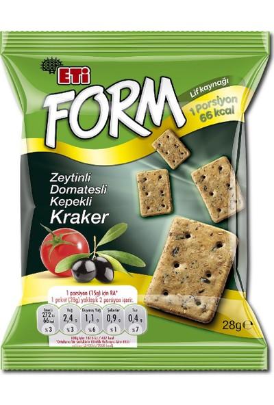 Eti Form Zeytinli Kepekli Kraker 28 gr x 20'li