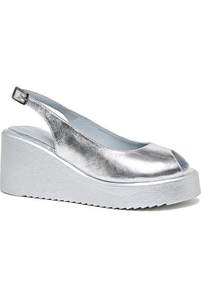 Desa Viva Kadın Deri Sandalet